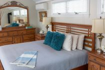 Bed and Dresser in Arbor Room