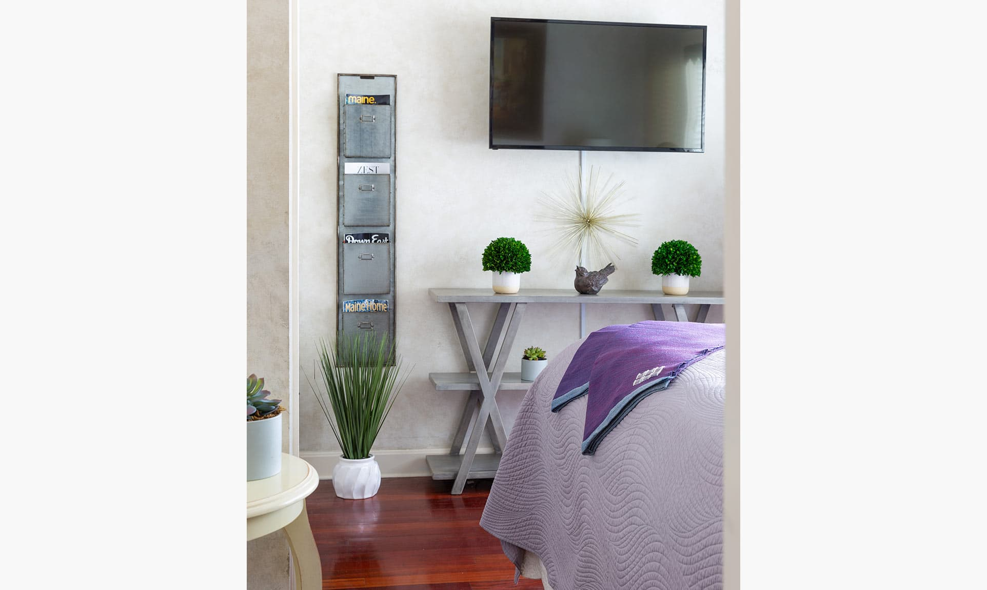 Television in Carriage Bedroom