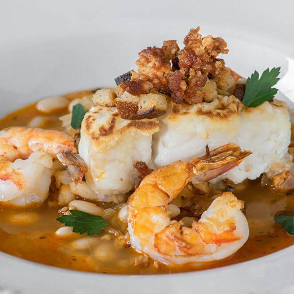 Gourmet fine dining dish