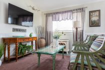 Living Room in Normandy Suite
