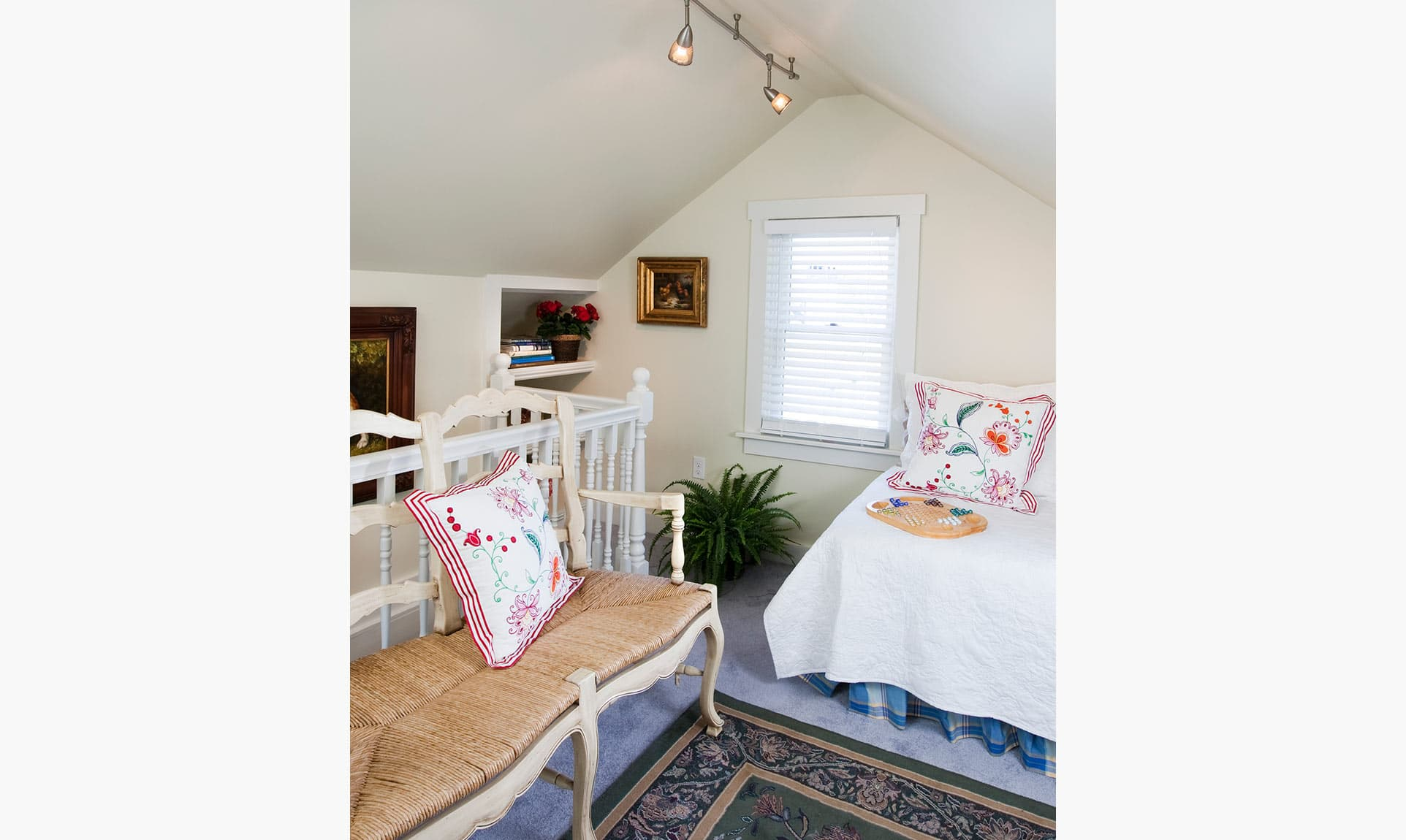 Upstairs with Twin Beds