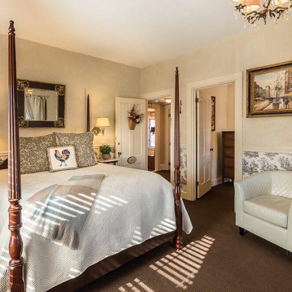 Mansard Room at our Maine Coast inn